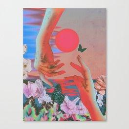Strange Times Canvas Print