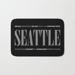 Seattle Grunge Bath Mat