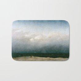 Caspar David Friedrich - The Monk by the Sea (1809) Bath Mat