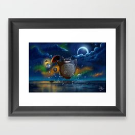 Studio Ghibli: My Neighbour Totoros Framed Art Print