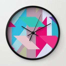 Abstracts colors Nr.1 Wall Clock