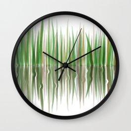 Reed Phragmites Australis Wall Clock