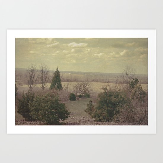 The Seconds Slipped Away Art Print
