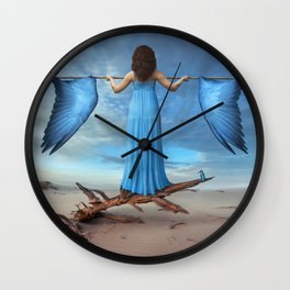 Learning to fly Wall Clock