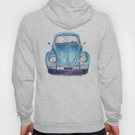 Vintage blue car Hoody