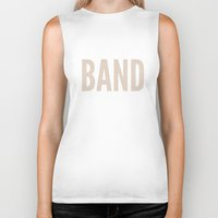 band Biker Tanks featuring BAND! by Wackom