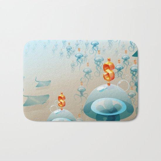 Jelly fish Bath Mat