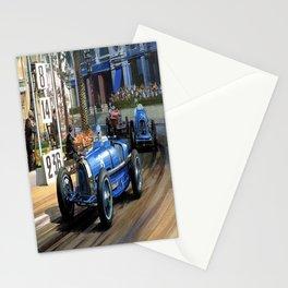 Vintage Monaco Grand Prix Race  Stationery Cards