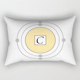 Carbon - Bohr Model Rectangular Pillow