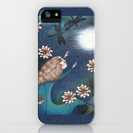 The Mermaid's Lake--Catching the Moon iPhone Case