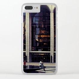 Archi Riflessi nella Grande Mela Clear iPhone Case