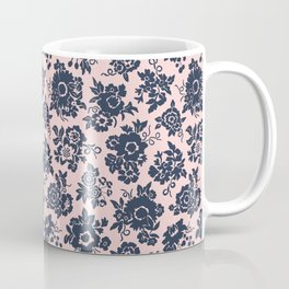 Wildflower Bouquet / pink & blue Coffee Mug