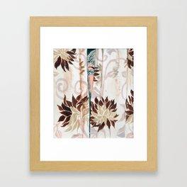 Spying eye #1 Framed Art Print