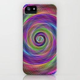 Spiral magic iPhone Case