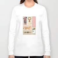 happy birthday Long Sleeve T-shirts featuring Happy Birthday by Judith Loske