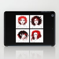 suits iPad Cases featuring The Suits by AndytheLemon