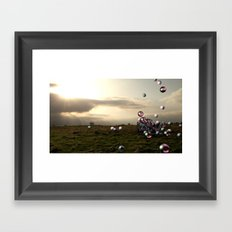 The North 2 Framed Art Print