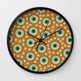 Carousel Amber Wall Clock
