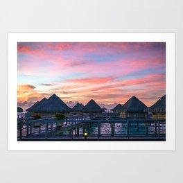 Bora Bora #society6 #decor #buyart Art Print