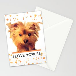 I LOVE YORKIES | Dogs | nb Stationery Cards
