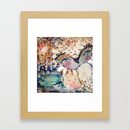 Love Me Still Framed Art Print