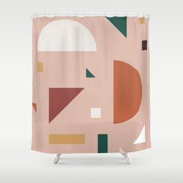 Abstract Geometric 31 Shower Curtain