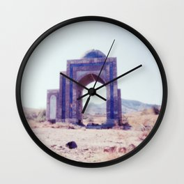 Gateway #3. Analog. Film photography Wall Clock