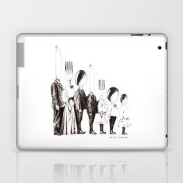 Family Portrait Line-up Laptop & iPad Skin