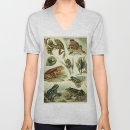 Frogs And Toads Unisex V-Neck