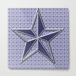 Nautical Design 3 Metal Print