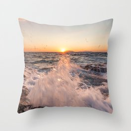 Moments to be there Throw Pillow