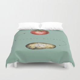 Tomato Potato Duvet Cover