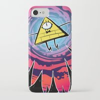 bill iPhone & iPod Cases featuring Bill by Dinolich
