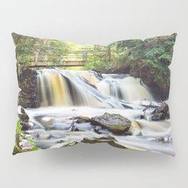 Upper Chapel Falls at Pictured Rocks National Lakeshore - Michigan Pillow Sham