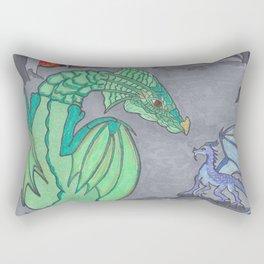 Ashes and Dragons Rectangular Pillow
