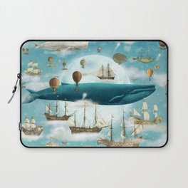 Ocean Meets Sky - option Laptop Sleeve