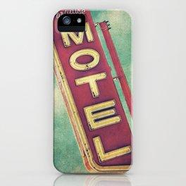 Paradise Motel Sign iPhone Case