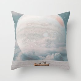 BEYOND HORIZONS Throw Pillow