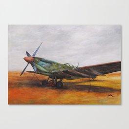 Vintage Plane II Canvas Print