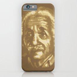 postal cell Albert Einstein iPhone Case