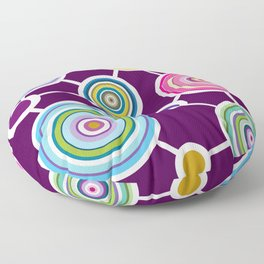 ROUND CONECTION Floor Pillow
