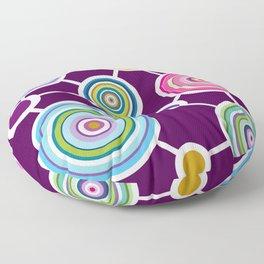 ROUND CONECTION Floor Pillow
