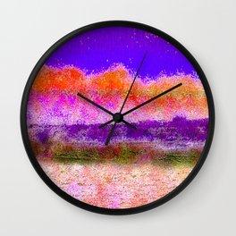 Sunset Glow Wall Clock