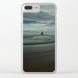 Seascape Cannon Beach II Clear iPhone Case