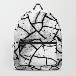 Crackled texture Backpack