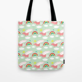 Pigs Can Fly! Tote Bag