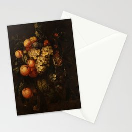 FRANS VAN EVERBROECK (DUTCH C. 1638-C. 1672) A Sumptuous Collection of Fruit Stationery Cards