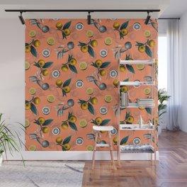 Unfinished Lemons Wall Mural