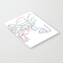 World Metro Subway Map Notebook