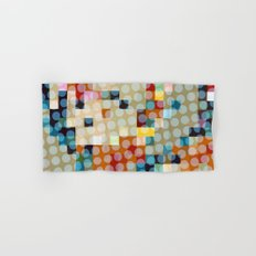dots meet pixels Hand & Bath Towel